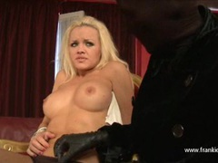 Hot blonde lesbian stripped and sucking femdoms big strapon movies at kilomatures.com