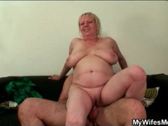 Mother in law rides him with her shaved pussy movies at sgirls.net