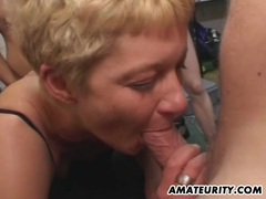 Amateur girlfriend anal group sex with facials movies