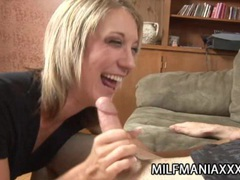 Amy brooke - beautiful blonde milf fucked from behind movies at lingerie-mania.com