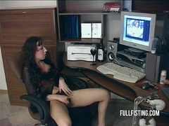 Passionate hot fisting love movies