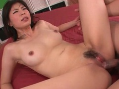 Beautiful perky boobs on slutty saki aoyama videos