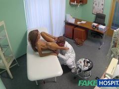 Fakehospital spying on hot young babe having special treatment from the doctor pov creampie movies at sgirls.net