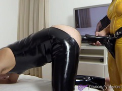 Femdom strapon fuck with horse-dildo movies at find-best-videos.com