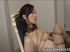 Extreme bondage and dildo fuck for an asian babe tubes at chinese.sgirls.net
