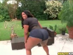 Chubby black girl layla monroe shakes ass movies at adipics.com