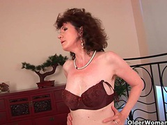 Old woman with furry pussy gets fucked movies at find-best-mature.com