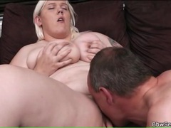 Shaved bbw pussy eaten out and laid movies at find-best-tits.com