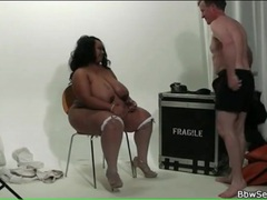 Black fatty sucks his hard white boner movies at find-best-videos.com