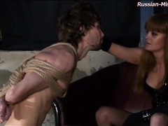 Sexy mistress threatens to cut bound guy movies at kilosex.com