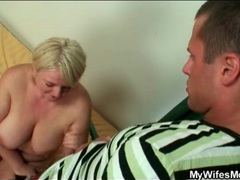 She blows her son in law with passion movies at kilopics.net