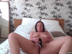 Smooth curvy amateur plays with ass and pussy movies at sgirls.net