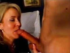 Blonde milf in 1st time hardcore film does a younger guy! movies at kilovideos.com