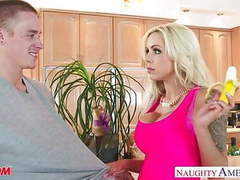 Busty mom nina elle gets nailed and facialized videos