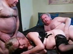 Older bisex group movies