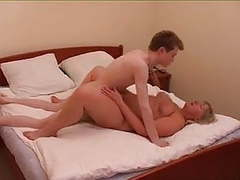 Old & young - mom hot and bothered videos