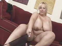 Blonde bbw-milf with huge boobs videos