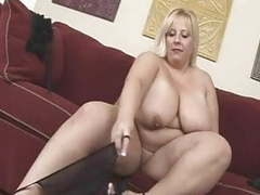 Blonde bbw-milf with huge boobs movies at freekilosex.com