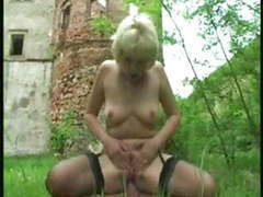 German blonde granny part 2 movies at kilovideos.com
