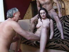 Amateur beauty melissa has gangbang on the sofa movies at find-best-babes.com