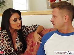Brunette mom jessica jaymes gets facial jizzed videos