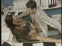 Mature fucked in office tubes