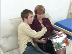 Red haired russian mom fucks with her young un ! videos