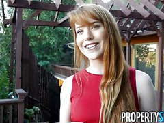 Propertysex - sexual favors from redhead real estate agent videos