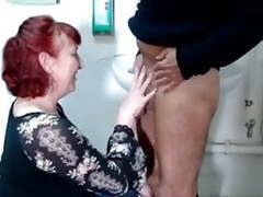 German mature redhead housewife and the plumber - amanda movies