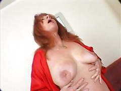 Horny redheaded mature getting fucked videos
