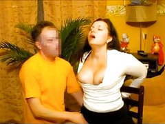 Hot submissive wife gets face fucked by her russian hubby movies at kilotop.com