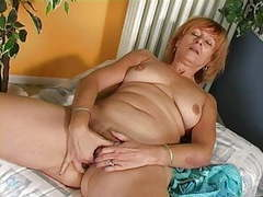 Redhead masturbation home videos