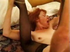 Mature redhead trudy true sucks and fucks movies at freekilosex.com