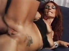 Skinny redhead milf barbara gandalf anal sex with young guy videos