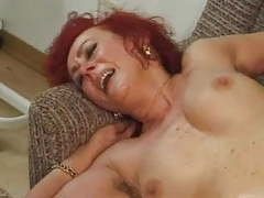 Redhead mature office slut videos