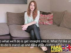 Fakeagentuk agent fucks petite spanish redhead good and hard movies at freekiloporn.com