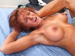 Sexy redhead milf gets fucked hard! movies at find-best-panties.com