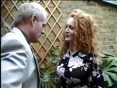 English redhead nicole gets caught smoking a joint tubes