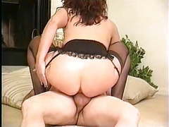 Classic busty redhead cougar roxy rider movies at freekiloclips.com