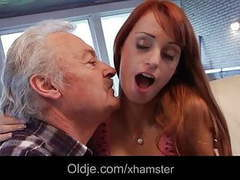 Lucky grandpa gustavo fucks sexy babe erica fontes movies at find-best-ass.com