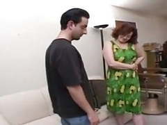 Chubby redhead milf fucks young in couch movies at reflexxx.net