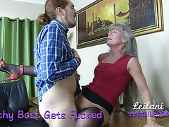 Bitchy boss gets fucked tubes