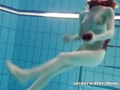 Redhead mia stripping underwater movies at kilomatures.com