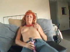 Mature redhead dildos movies at kilovideos.com