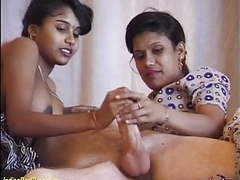 Threesome orgy with desi indian teens videos