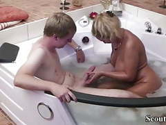 German mom help 18yr old virgin step-son with first fuck movies at find-best-ass.com