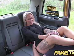 Fake taxi busty sexy blondes holes stretched and fucked tubes