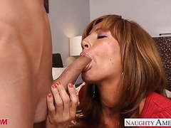 Chesty mom tara holiday slurp a big dick videos