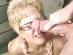 Sexy granny sucks young cock movies at kilotop.com