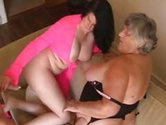 Grandma libby and angel eyes share a young cock movies at freekiloporn.com
